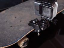 Câmera da ação para o tiro video profissional Foto de Stock Royalty Free