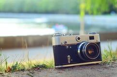 Câmera da foto Fotografia de Stock