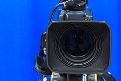 Câmera da lente Fotografia de Stock