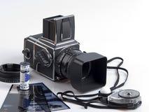 Câmera da parte alta imagens de stock royalty free