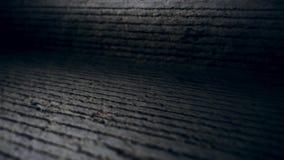 Câmera da parte superior nas superfícies desiguais 4k do cimento vídeos de arquivo