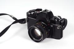 Câmera da película de SLR imagens de stock royalty free