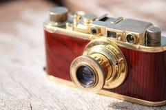 Câmera da película do vintage Imagens de Stock Royalty Free