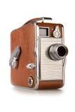 Câmera da película do vintage 8mm Foto de Stock