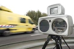 Câmera da velocidade Imagens de Stock