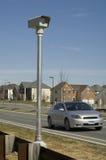 Câmera da velocidade do tráfego Foto de Stock Royalty Free