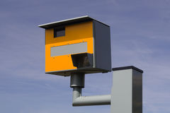 Câmera da velocidade, Reino Unido. Fotografia de Stock