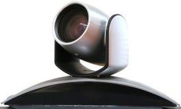 Câmera da videoconferência Fotos de Stock