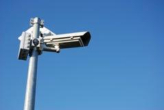 Câmera da vigilância Foto de Stock Royalty Free