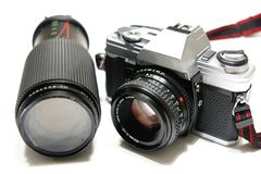 câmera de 35mm Imagem de Stock