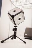A câmera de Beyonder 360 no robô e os fabricantes mostram Foto de Stock Royalty Free