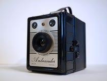 Câmera de caixa do vintage fotografia de stock royalty free