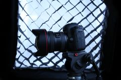 Câmera de Canon 5D Mark IV Foto de Stock