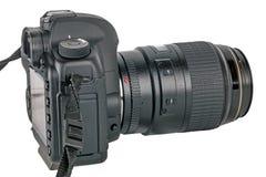 Câmera de Digitas SLR Imagem de Stock Royalty Free