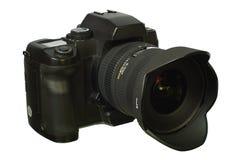 Câmera de Digitas SLR. Imagens de Stock