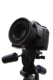 Câmera de Dslr imagem de stock