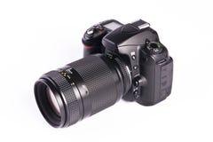 Câmera de DSLR fotografia de stock
