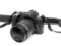 Câmera de DSLR Fotografia de Stock Royalty Free