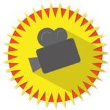 Câmera de filme Imagem de Stock
