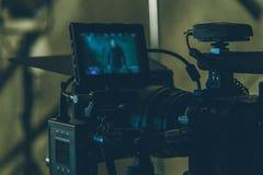 Câmera de filme do início fotos de stock