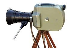 Câmera de filme do vintage Imagens de Stock
