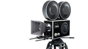 Câmera de filme retro Imagens de Stock Royalty Free