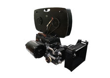 A câmera de filme soviética imagem de stock