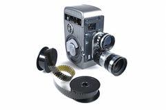 Câmera de filme velha Fotografia de Stock