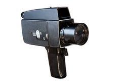 Câmera de filme velha de 8mm Fotografia de Stock Royalty Free