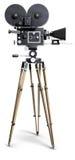 Câmera de filme velha de Fashoned Fotos de Stock Royalty Free