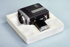 Câmera de filme velha de 8mm fotos de stock