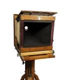 Câmera de madeira velha Foto de Stock