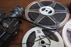 câmera de 8mm Imagem de Stock Royalty Free