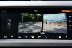 Câmera de opinião 360 da descoberta 2018 de Land rover fotos de stock royalty free