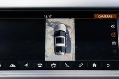 Câmera de opinião 360 da descoberta 2018 de Land rover imagens de stock royalty free