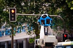 Câmera de opinião da rua de Google Foto de Stock