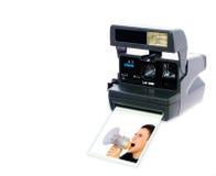 Câmera de Polaroid Foto de Stock Royalty Free