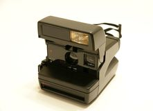 Câmera de Polaroid Fotografia de Stock