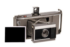 Câmera de Polaroid velha Imagens de Stock Royalty Free