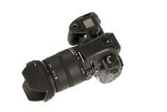 Câmera de reflexo imagem de stock