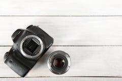 Câmera de reflexo Fotografia de Stock