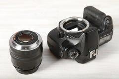 Câmera de reflexo Fotografia de Stock Royalty Free