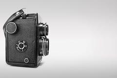 Câmera de reflexo gêmea do vintage Fotografia de Stock Royalty Free