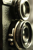 Câmera de reflexo velha Fotografia de Stock Royalty Free
