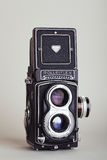 Câmera de Rolleiflex (Tessar) Fotografia de Stock Royalty Free