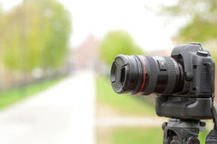Câmera digital moderna da foto Foto de Stock Royalty Free