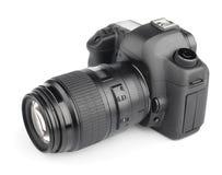 Câmera digital moderna de SLR Foto de Stock