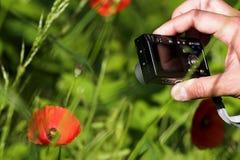Câmera diminuta fotografia de stock