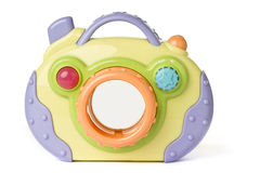 Câmera do brinquedo Fotos de Stock Royalty Free