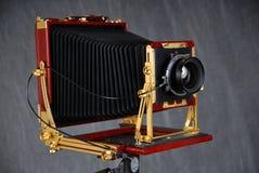 câmera do campo 8x10 fotos de stock